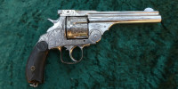 Revolver Smith Wesson double Aktion